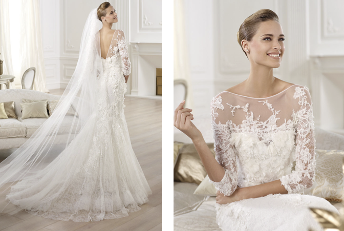 2014 elie by elie saab wedding dress collection for Elie by elie saab wedding dress
