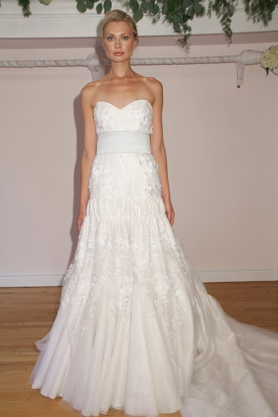 Randi Rahm timeless wedding dresses, Fall 2012