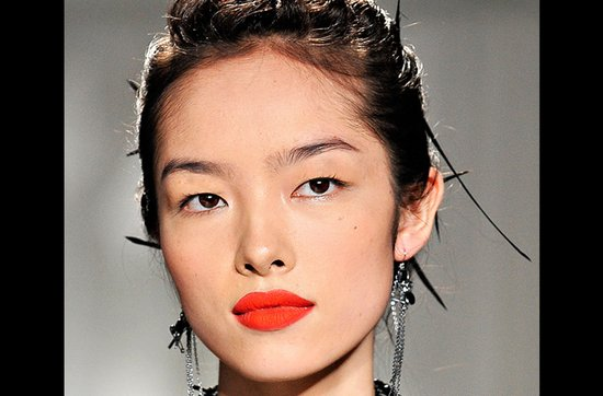 Bridal beauty guide 2012- racy red lips