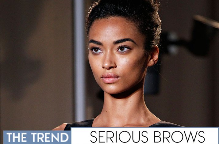 Bridal beauty guide 2012- strong eyebrows