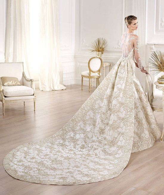 Yolima wedding dress by Atelier Pronovias 2014 bridal