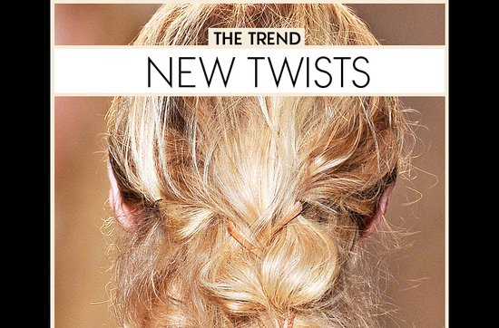 Bridal beauty guide 2012- twisted wedding updos