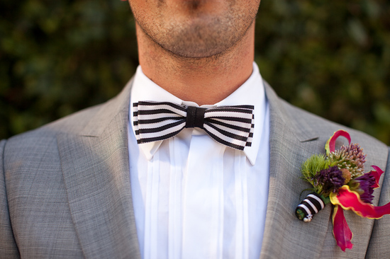 Fall wedding on Halloween- dapper groom's attire