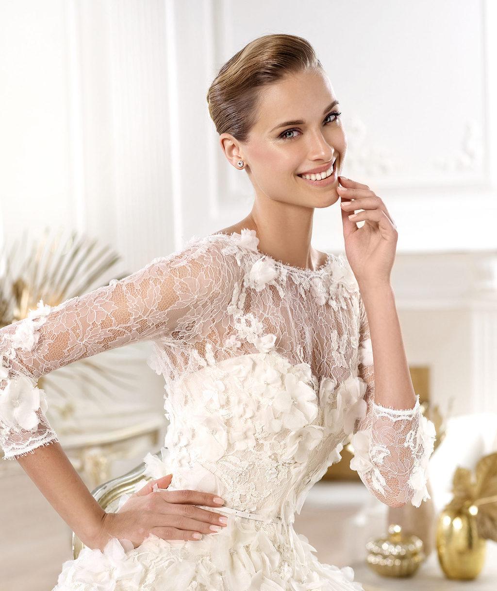Elie Saab Wedding Dress 2014 Pronovias Bridal Lacerta