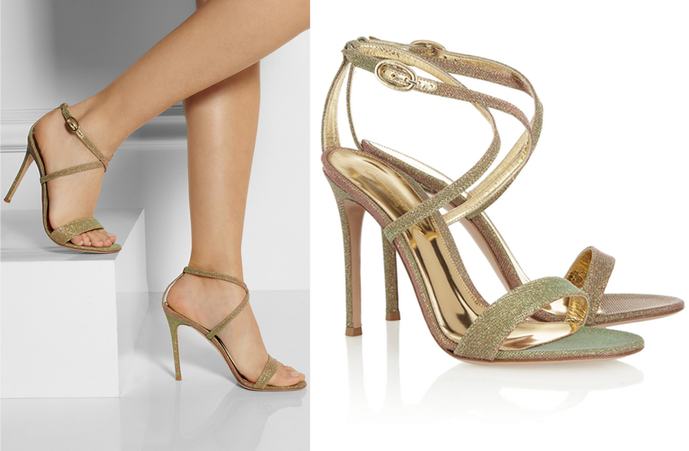 gianvito rossi gold ombre wedding shoes onewedcom