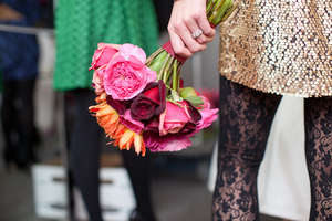 photo of Offbeat bridesmaids' style