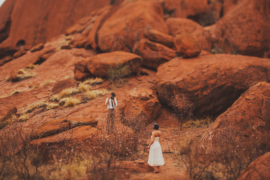 spiritual elopement in Australia real wedding inspiration 49
