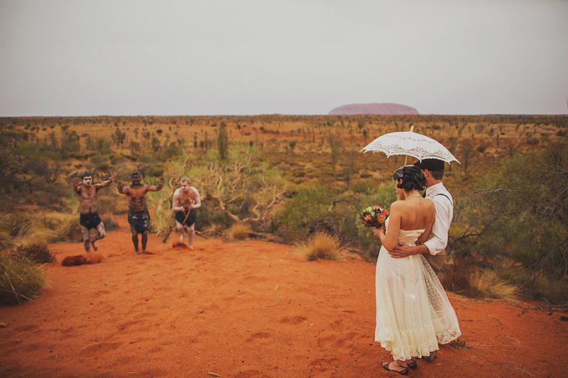 spiritual elopement in Australia real wedding inspiration 5