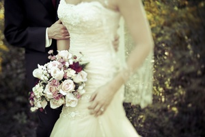 photo of Timeless fall wedding in Georgia