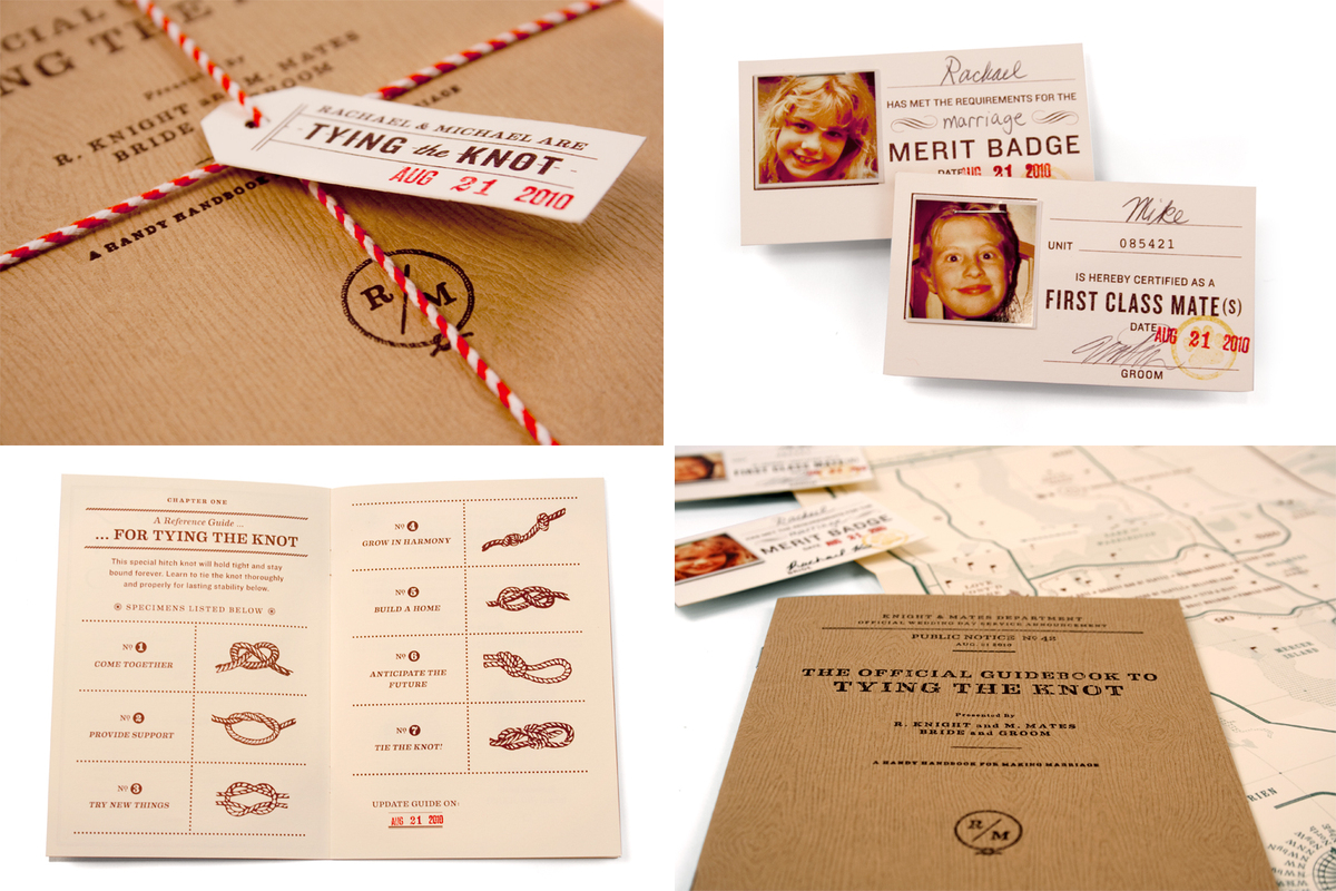 Tie The Knot Wedding Invitations could be nice ideas for your invitation template