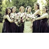 Real-fall-wedding-bridal-bouquet-eggplant-purple-bridesmaids-dresses.square