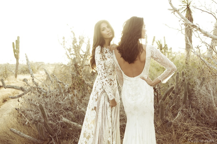 Lace-sleeved-wedding-dresses-with-beading-and-open-backs.full