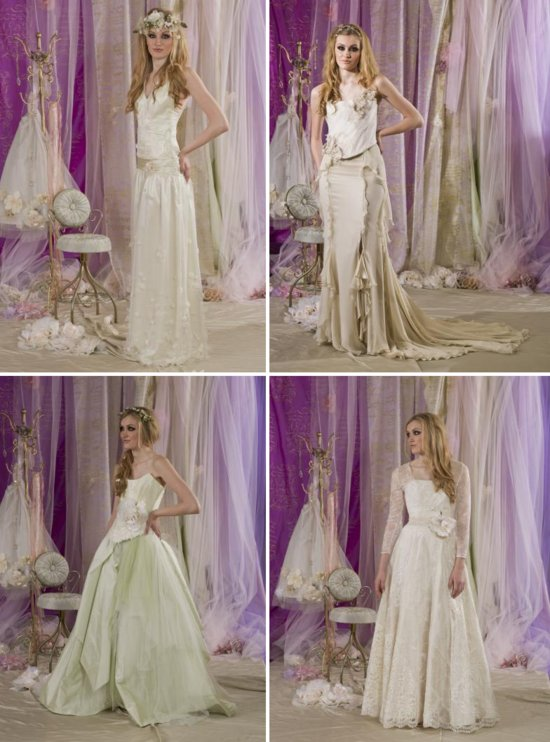 Terry Fox wedding dresses British bridal style