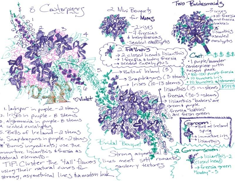 Diy-wedding-flower-projects-budget-friendly-purple.full