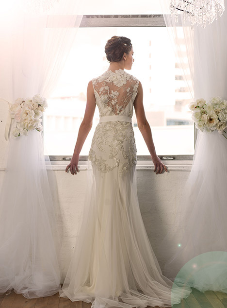 Delilah wedding dress by Sarah Janks