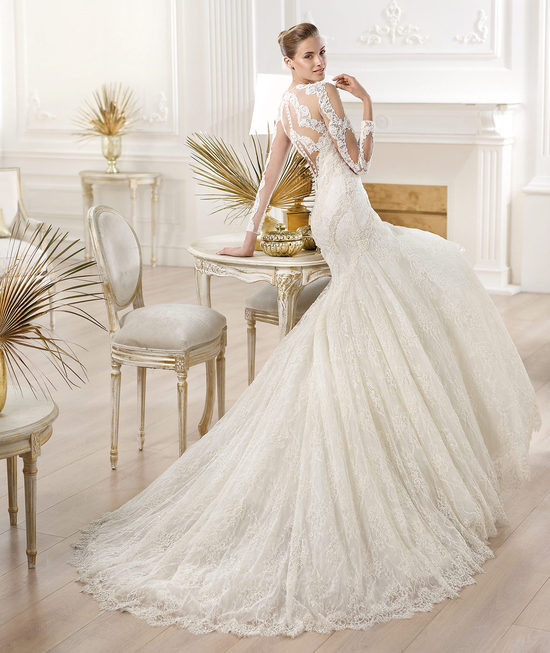 YANA wedding dress from Pronovias Atelier 2014 Bridal