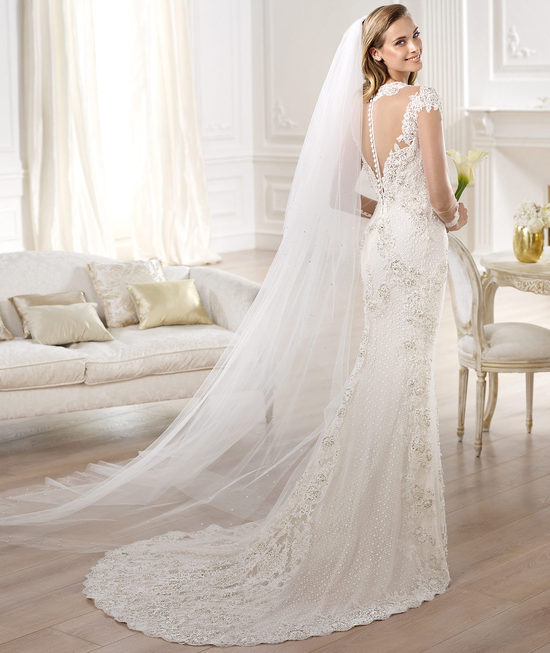 YANIDA wedding dress from Pronovias Atelier 2014 Bridal