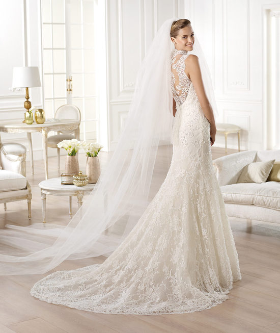 YEDIRA wedding dress from Pronovias Atelier 2014 Bridal
