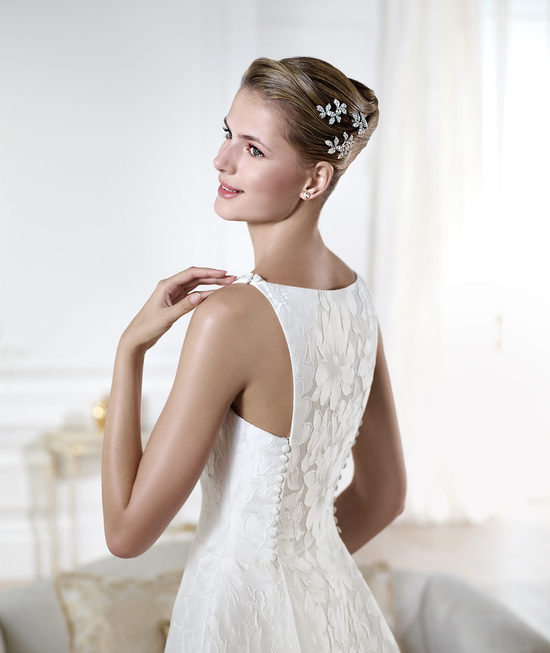 YENSEN wedding dress from Pronovias Atelier 2014 Bridal