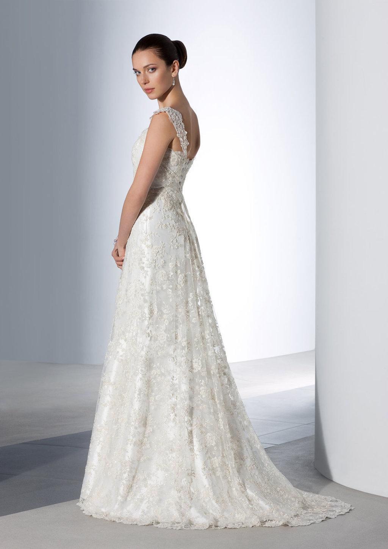 Etsy Wedding Dress.Classic Lace Wedding Dress Via Etsy