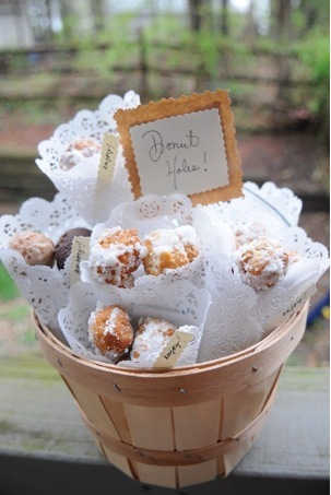 photo of Homemade Donut Holes