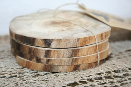 Homemade Wooden Coasters