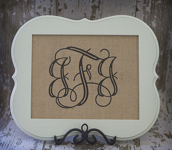 Triple Monogram No Border