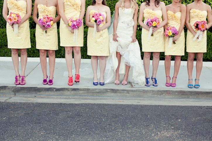 Bright-mix-and-match-shoes-for-bridesmaids.full