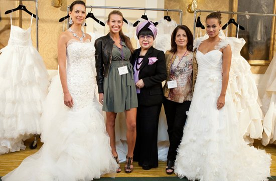New york bridal market with bridal designer Yumi Katsura