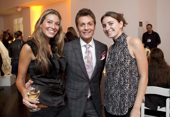 onewed, Randy Fenoli, and producer of Bridal Wave at Lazaro bridal runway show