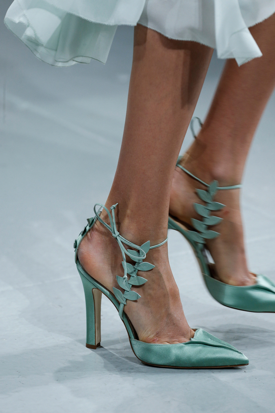 Zac Posen Spring 2014 RTW - Aqua Shoes for Something Blue