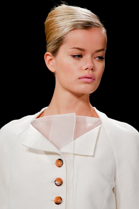 Carolina Herrera Spring 2014 RTW - Wedding White Details