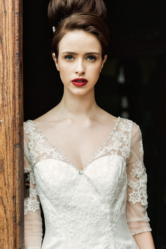 Cache wedding dress by Charlotte Balbier 2014 bridal