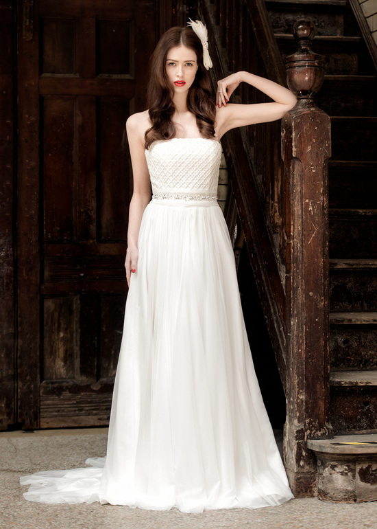 Holly Strapless Wedding Dress