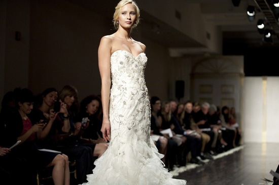 Best of NY bridal market- beaded wedding dress