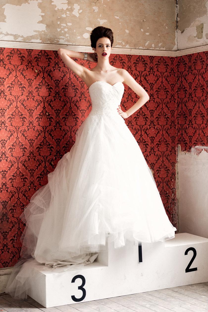 wedding dress by Charlotte Balbier 2014 bridal