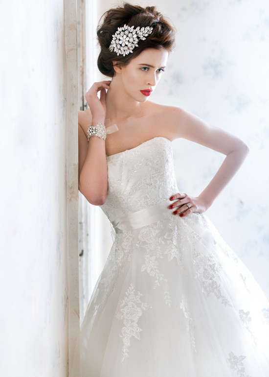 Libby wedding dress by Charlotte Balbier 2014 bridal