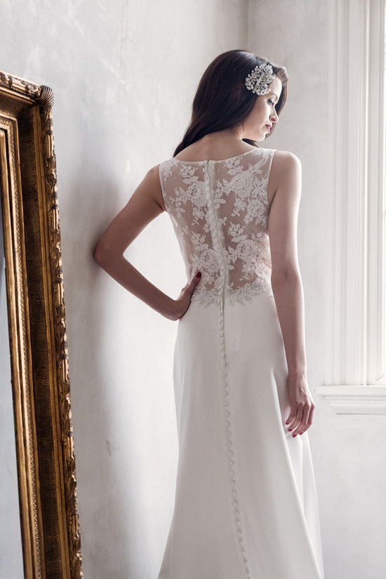 Madison wedding dress by Charlotte Balbier 2014 bridal