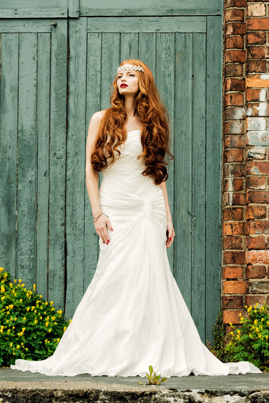 Poppy wedding dress by Charlotte Balbier 2014 bridal