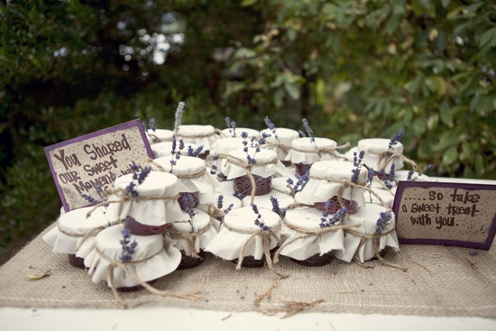 Personalized DIY wedding guest favors