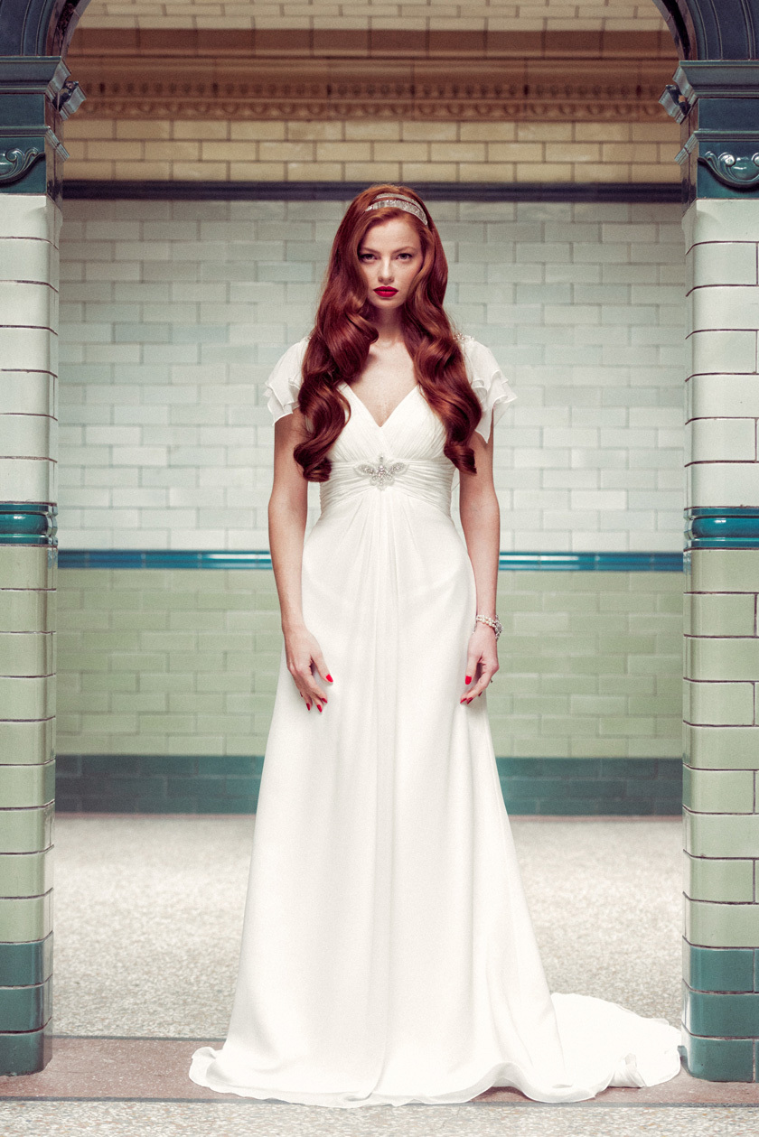 Mary wedding dress by Charlotte Balbier 2014 bridal