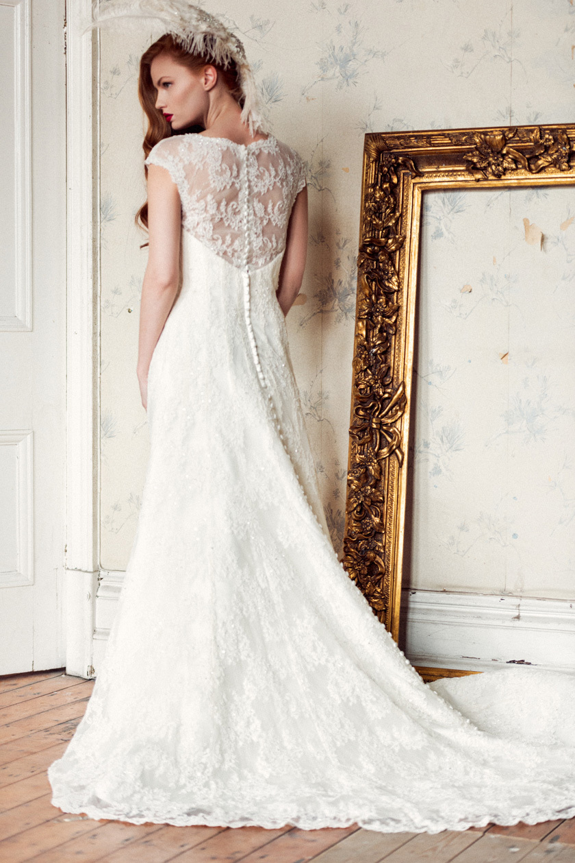 Pretoria wedding dress by Charlotte Balbier 2014 bridal