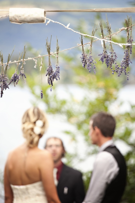 photo of Outdoor wedding with TONS of DIY inspiration