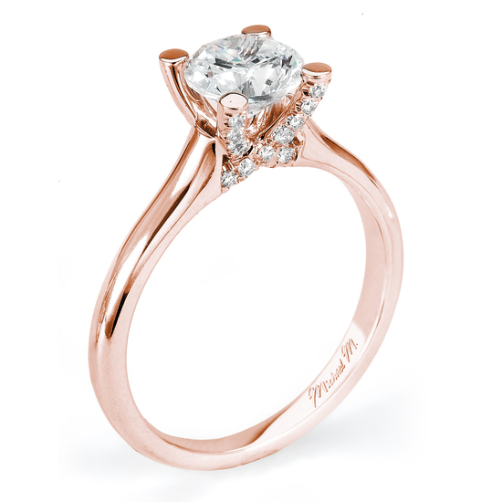 Rosegold Engagement Rings
