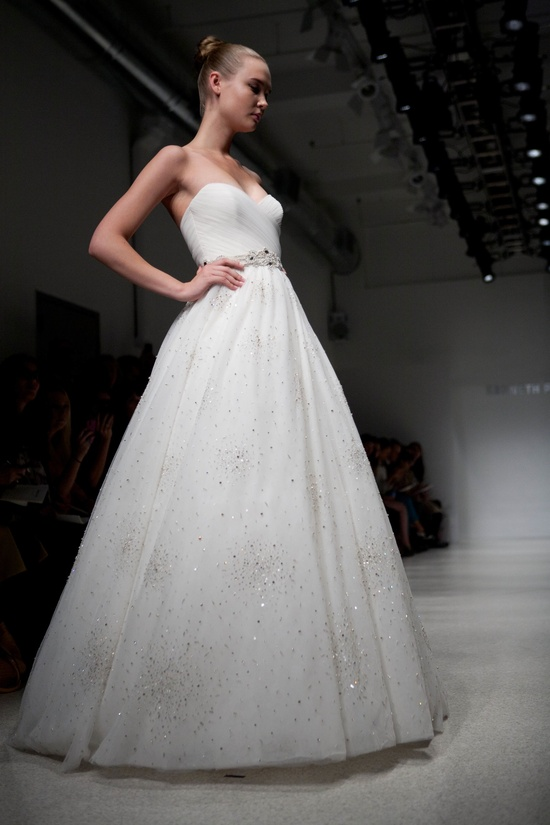 Winter wedding dress by Kenneth Pool