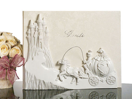 Fairy Tale Castle Wedding Guest Book