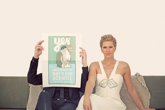 incredible wedding photography by Max Wanger art deco inspired poster