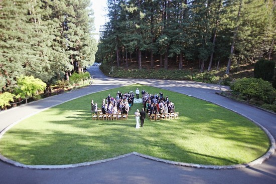 incredible wedding photography by Max Wanger heart shaped ceremony spot