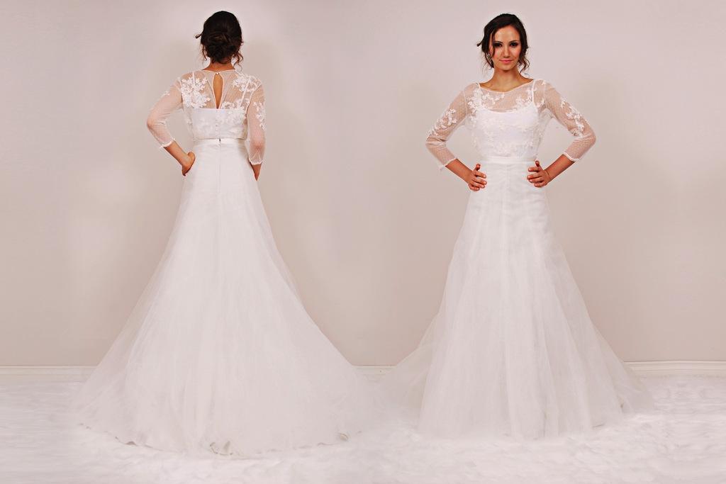 Cornelia Minetta Two Piece Wedding Dress By Sunjin Lee