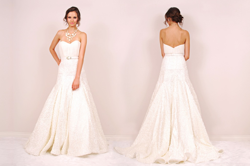 Lexington wedding dress by Sunjin Lee 2014 bridal